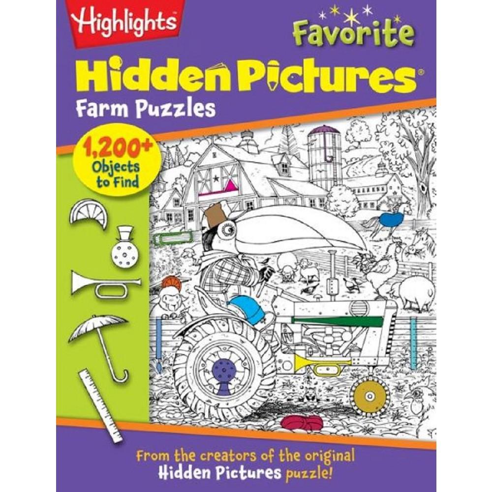 Highlights Hidden Pictures Favorite Farm ( Highlights