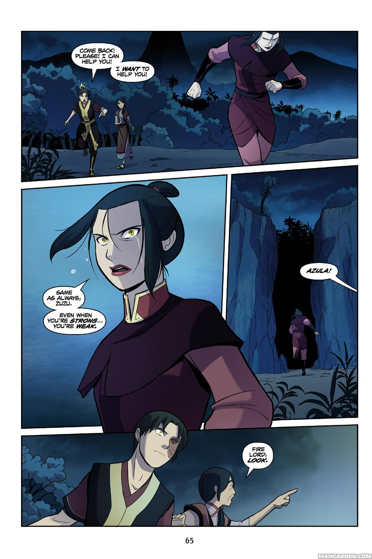 Manga avatar the last airbender the search chapter 3