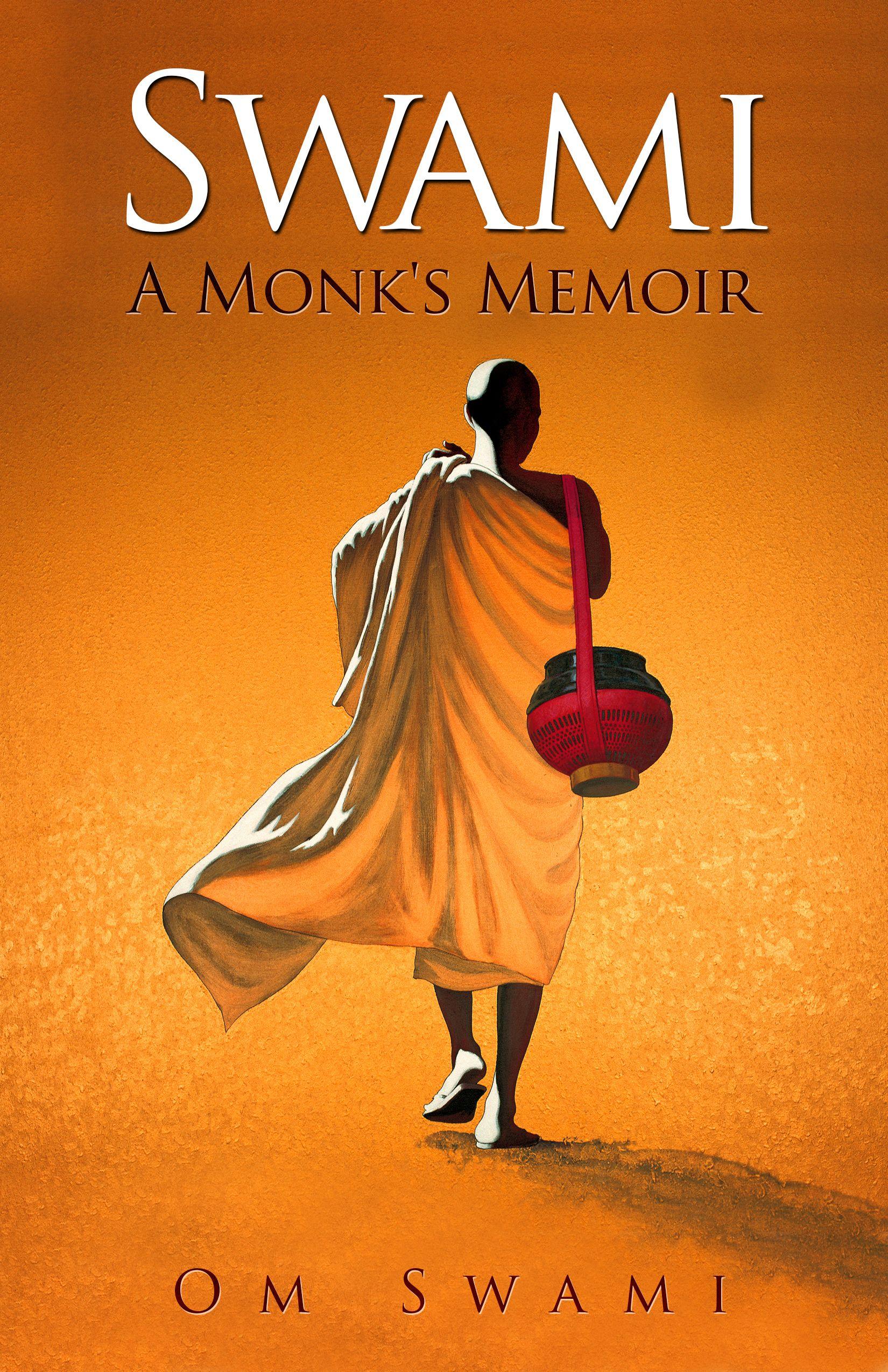 Book cover design   Swami - A Monk's Memoir by Om Swami
