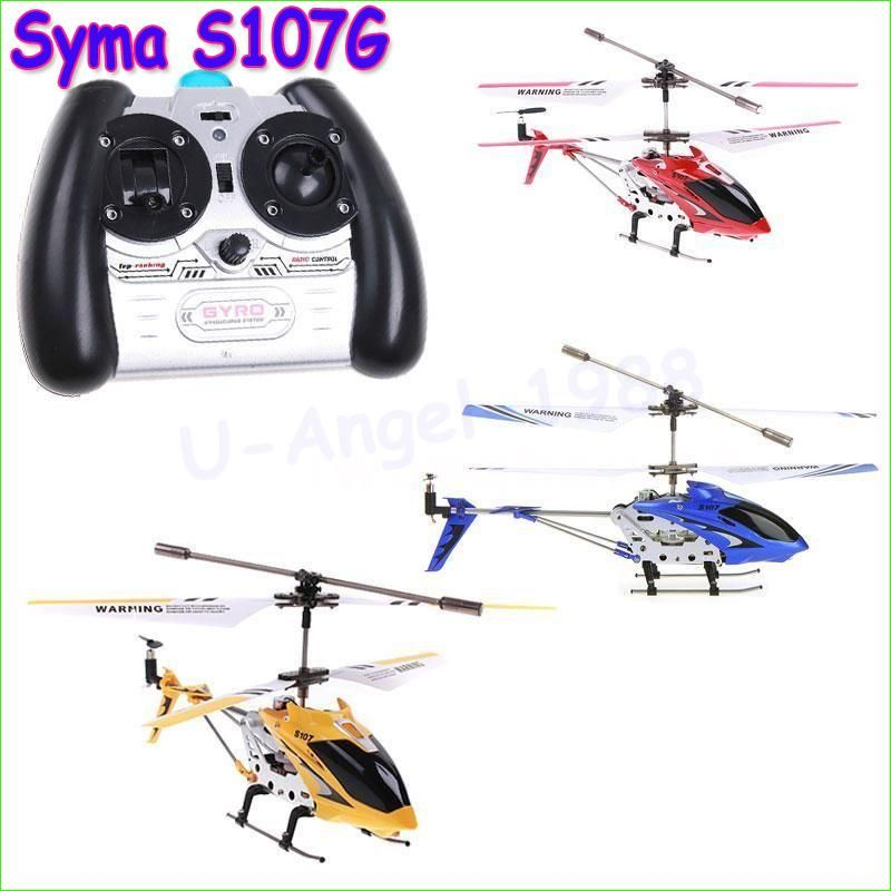 1pcs 100 Syma S107 S107g Rc Helicopter 35ch Mini Rc Toys With Gyro