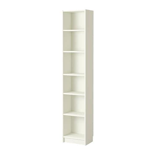 BILLY Boekenkast, wit wit 40x28x202 cm | Logeerkamer / bieb ...