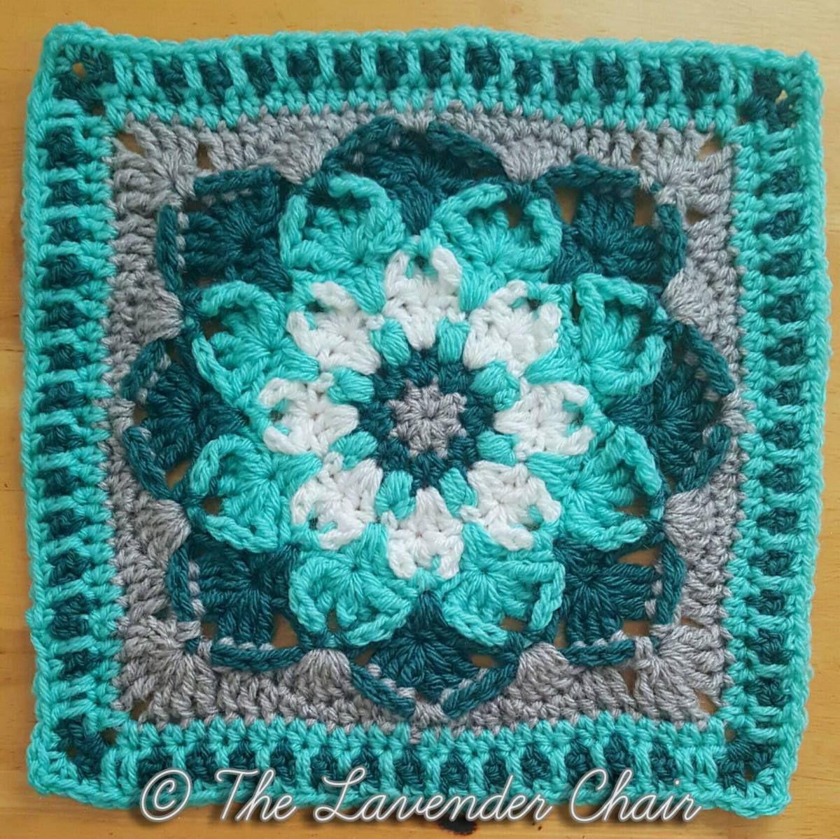 Kaleidoscope lily mandala 12 square free crochet pattern at the kaleidoscope lily mandala 12 square free crochet pattern at the lavender chair mandala bankloansurffo Image collections