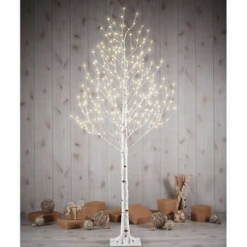 7 Twinkling Birch Tree Costco Holiday Led Christmas Lights