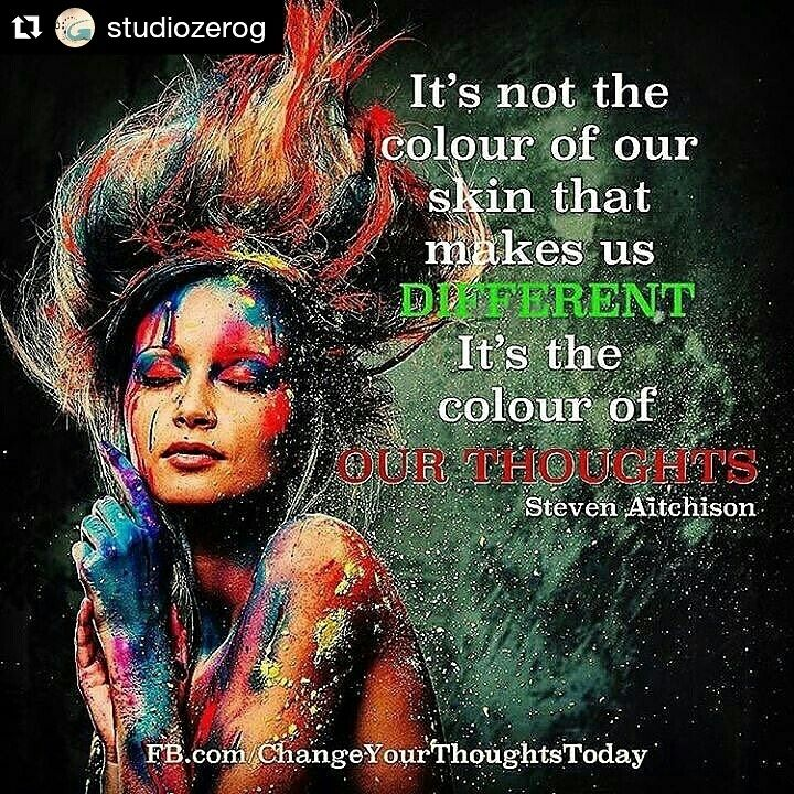 The color of our thoughts...