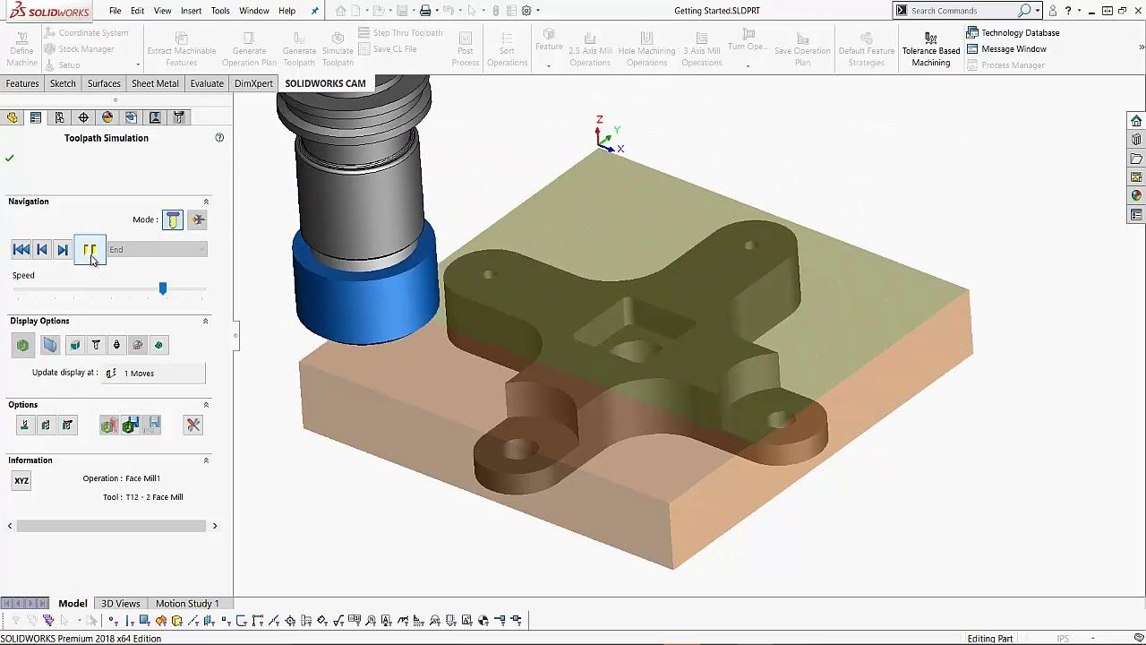 Solidworks 2018 cam tutorial interactive feature recognition and solidworks 2018 cam tutorial interactive feature recognition and simula baditri Image collections
