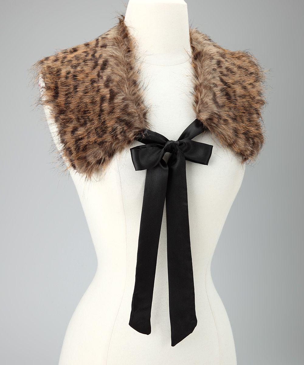 Brown Leopard Coco Collar