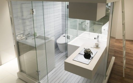 Compact bathroom | modern homes | Pinterest | Decoración