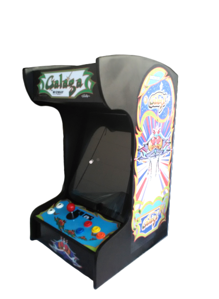 PacMan Arcade Machine With 60/412 Games Bartop Arcade in