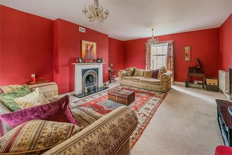 Cosy yet grand - this sitting room has it all. Property for sale in Shrewsbury, Shropshire.