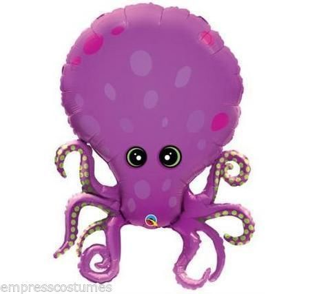 Octopus Balloon Underwater Theme Party Decorations