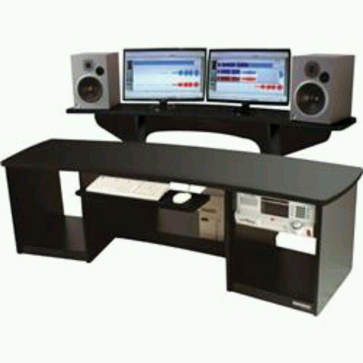 omnirax force 24 recording studio desk recording studio studio desk recording studio desk desk. Black Bedroom Furniture Sets. Home Design Ideas