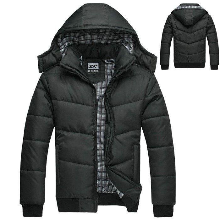 c19d423708c ZK Black Winter Jacket