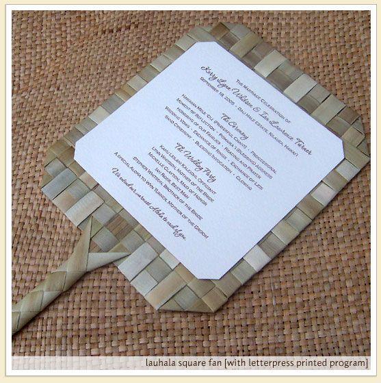 Wedding Program Fan Wording Samples Of Custom Design