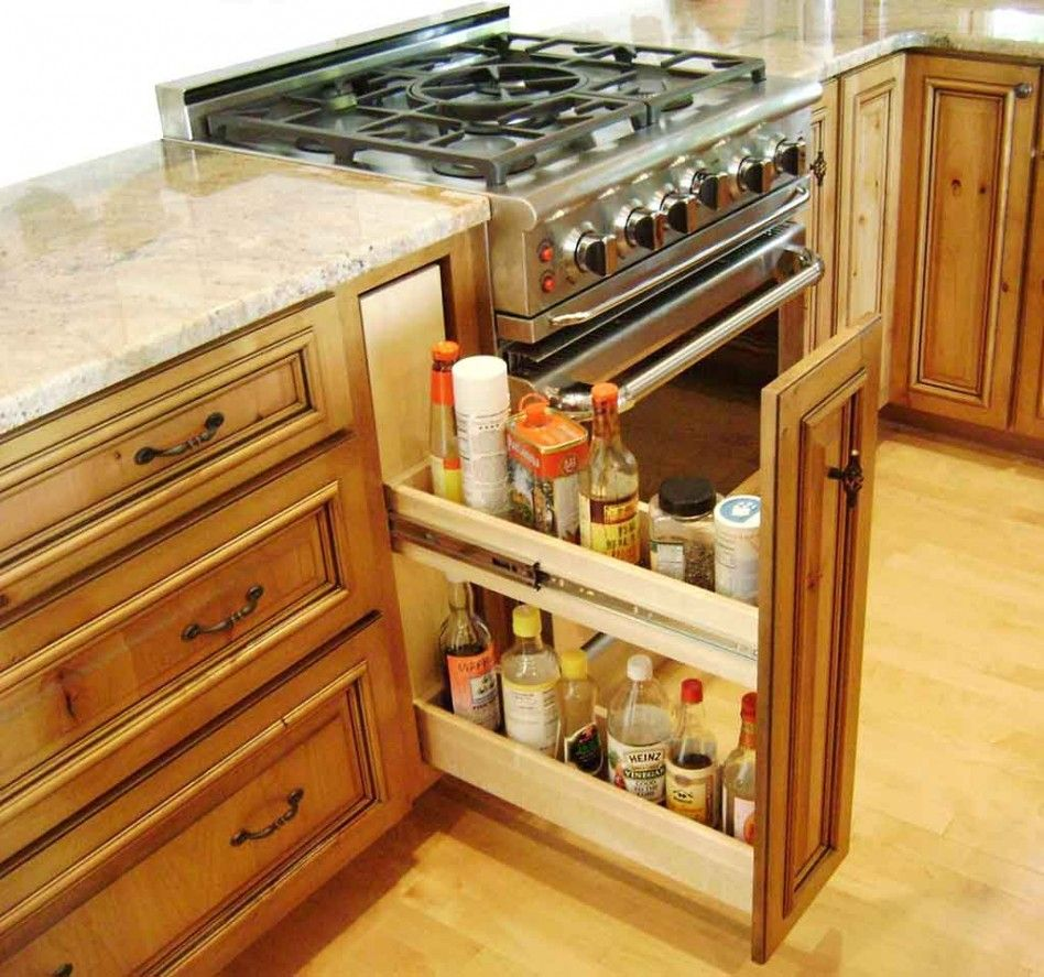to replace trash compactor | Small kitchen cabinet storage ...