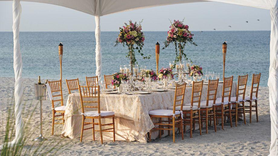 The RitzCarlton, Naples Lavish receptions, perfectly