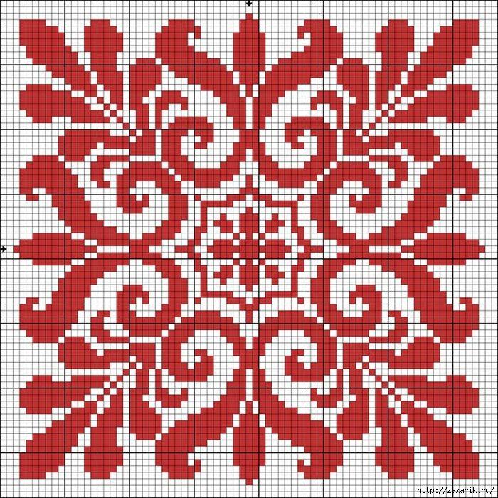 схема для вышивки из фото онлайн