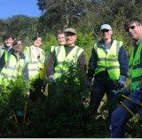 Saplings native to Boxley were cleared of weeds, scrub and undergrowth thanks to workers from the Maidstone branch of DSH Chartered Accountants and Business Advisors.