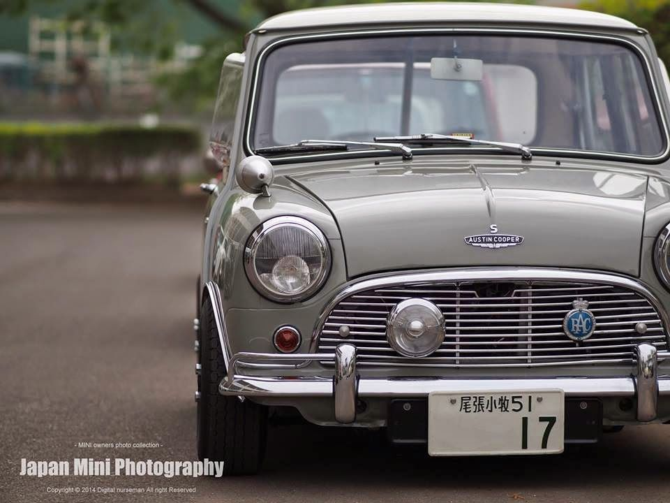 Japan Mini Photography Mini Cooper Classic Classic Mini Mini Morris