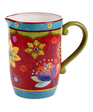 8c69200a6f3 Tunisian Sunset Pitcher | 5.13 - Bohemian Kitchen | Dinnerware ...