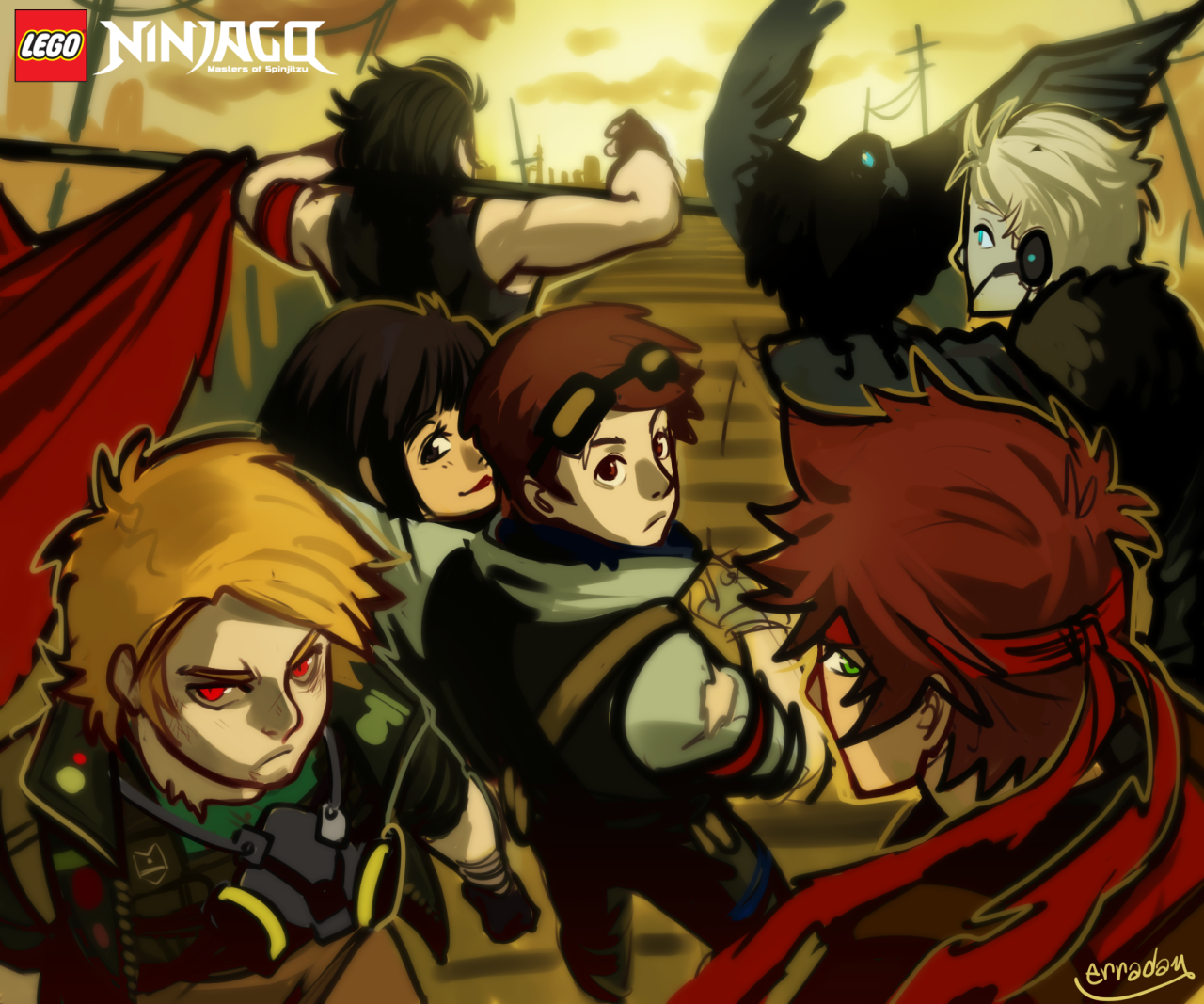 Steampunk Ninjago! By Erraday On Tumblr