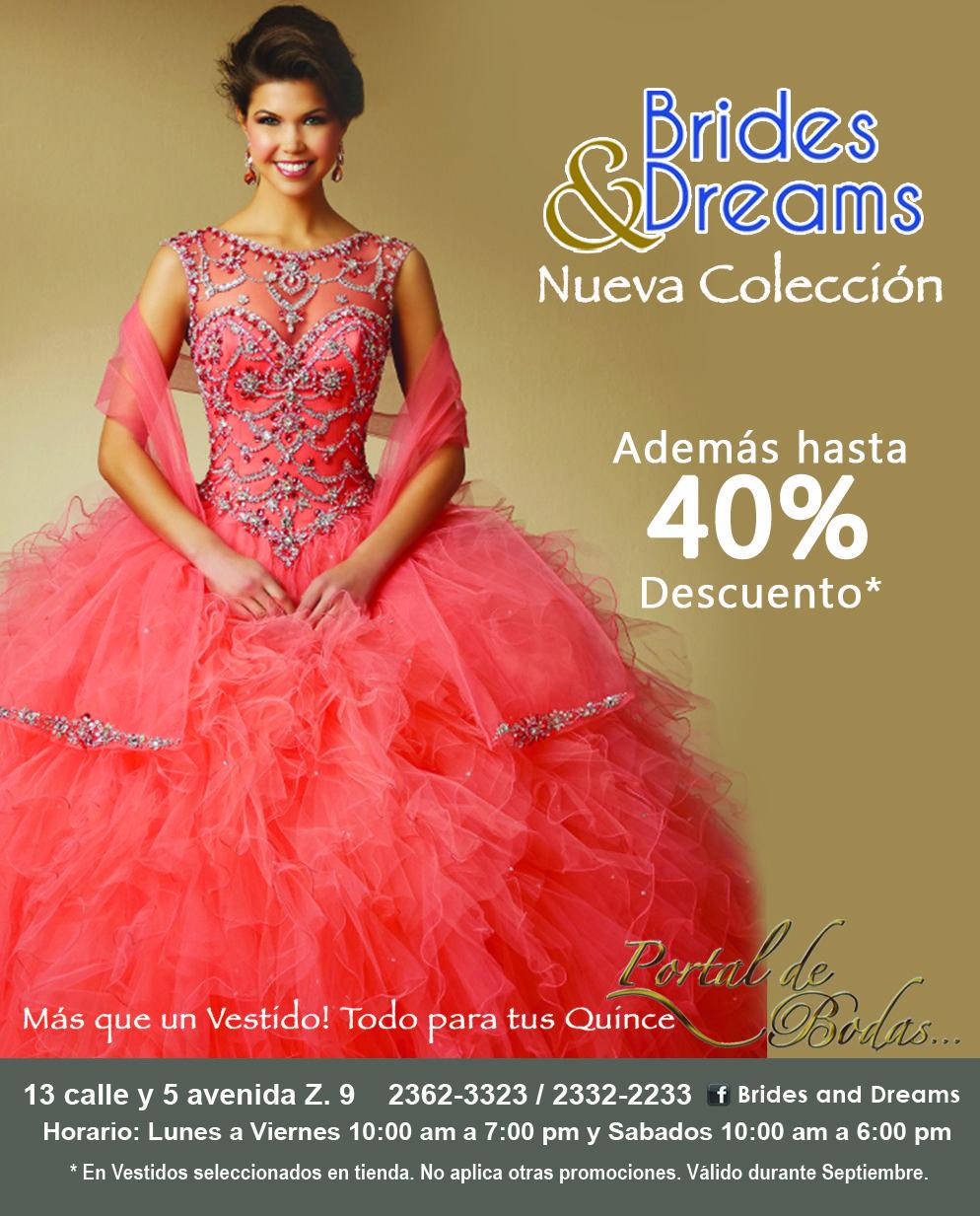 Septiembre en Brides and Dreams hasta un 40% de Descuento en ...