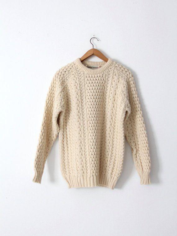 dbe0c1914e vintage fisherman sweater