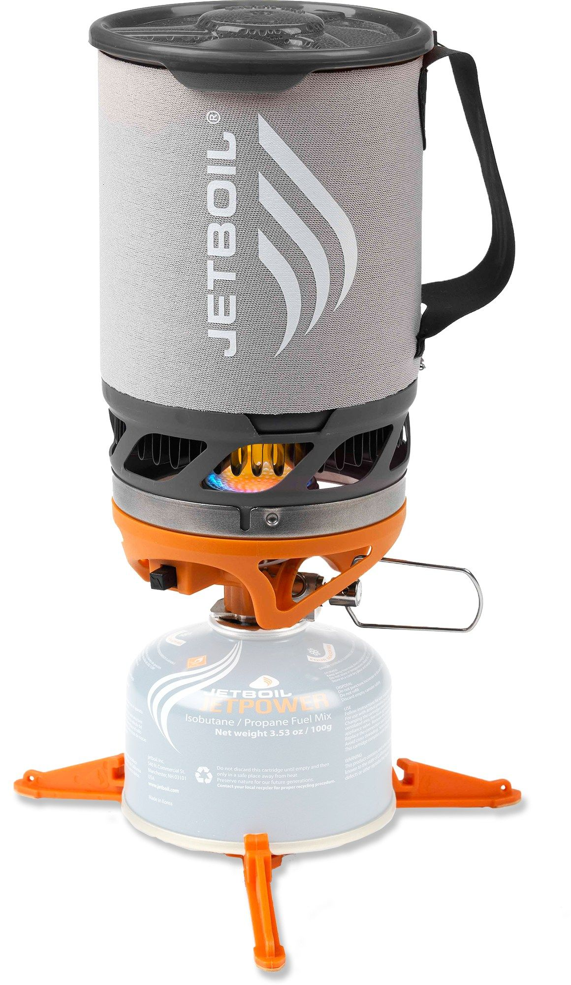 Jetboil Sol Titanium Stove - A friend had one of these while we were camping. They are great. Perfect for heating water. On my wish list.
