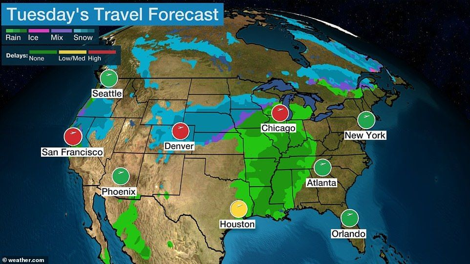 Pair of powerful winter storms threaten Thanksgiving