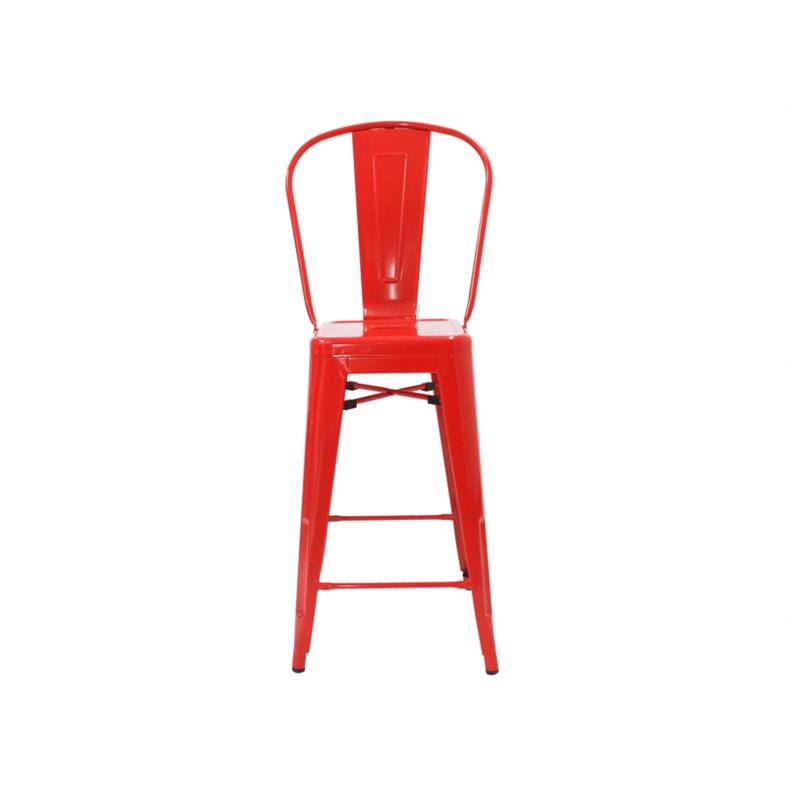 Este piso es un clásico en los muebles de diseño. Réplica.<br> Material: Acero<br>Medidas: Al asiento 66 cm Al total 108 cm An 47 cmProf 45 cm<br>Despacho sólo Santiago