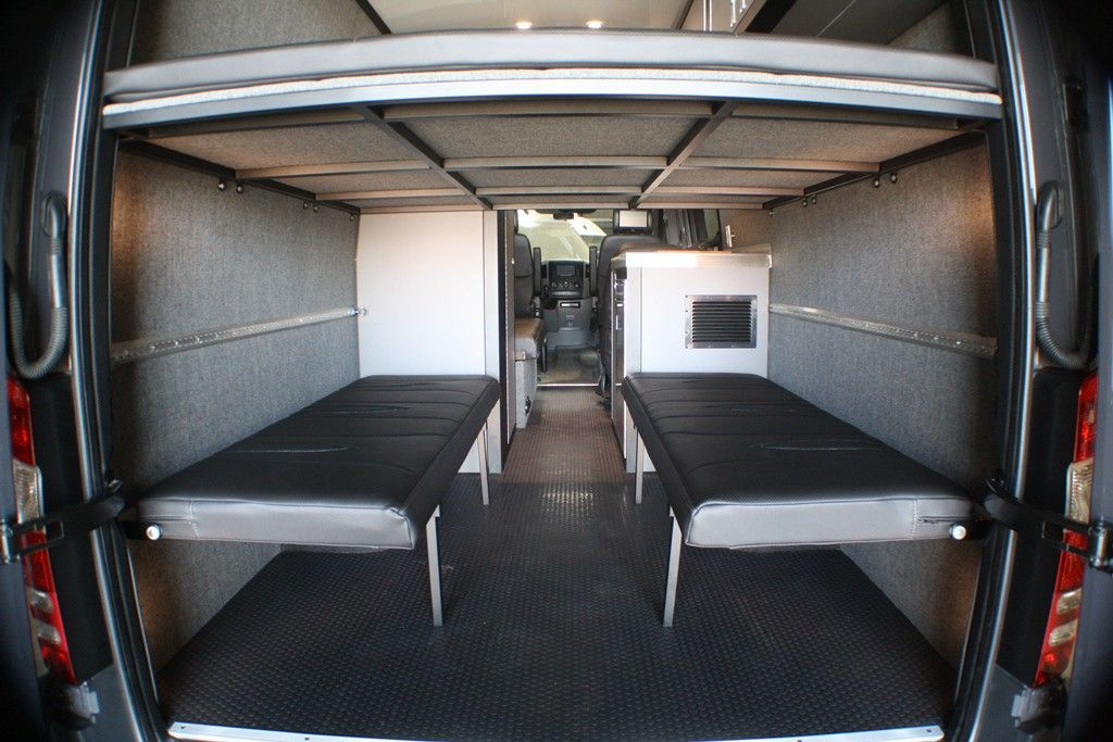 Wall Mount Folding Bench Seat Sprinter Van Camper