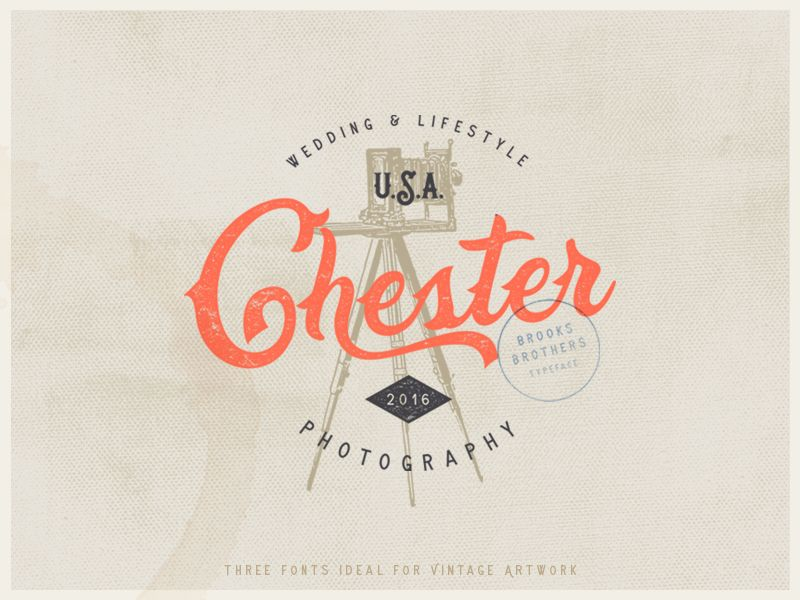Brooks Brothers Typeface Logo design collection, Artist