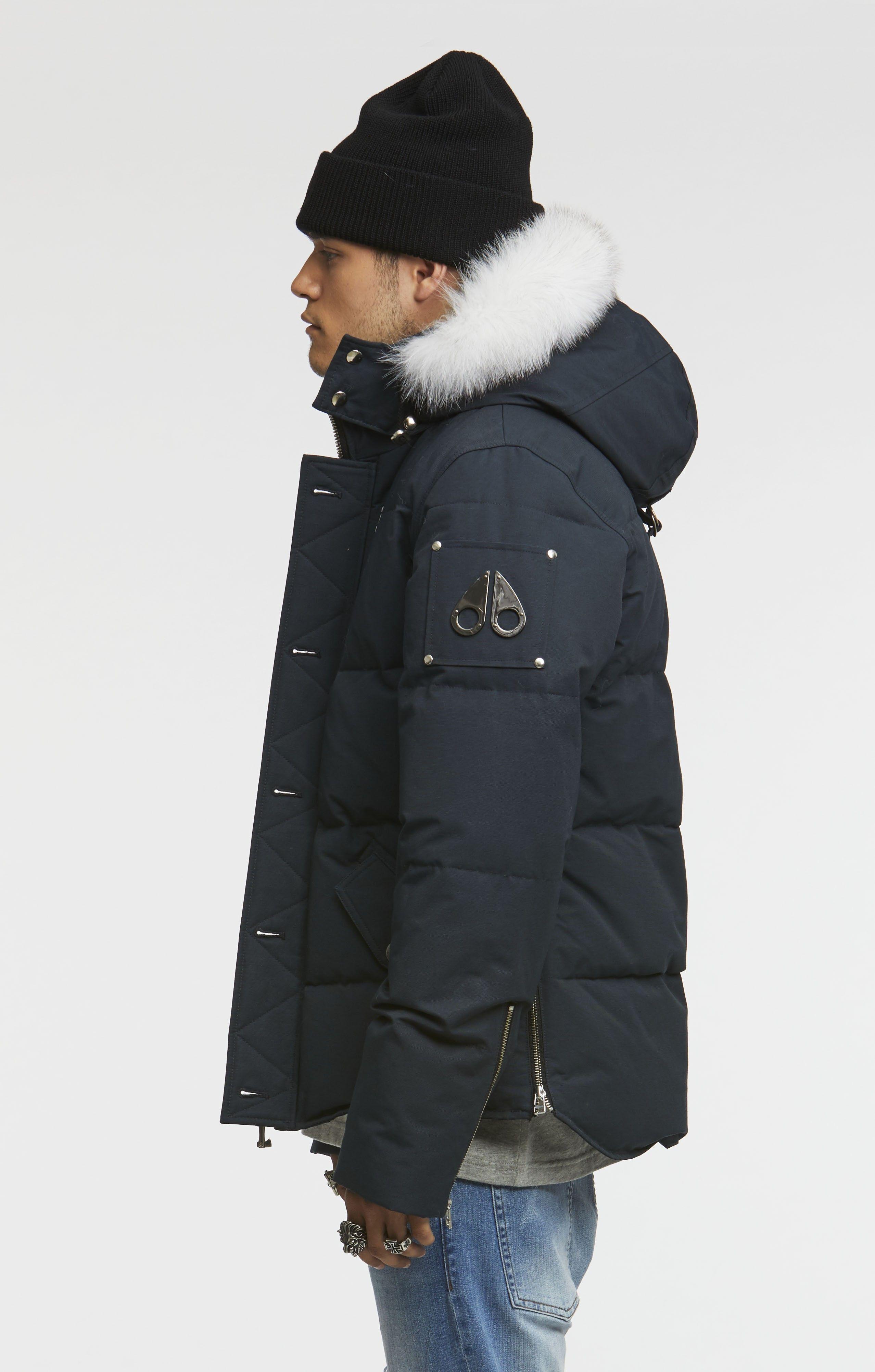 3q Jacket Men Moose Knuckles Streetwear Manner Streetwear