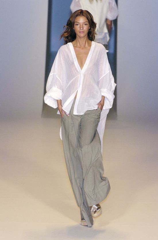 Stella McCartney Spring 2005 ready-to-wear collection, Mariacarla Boscono