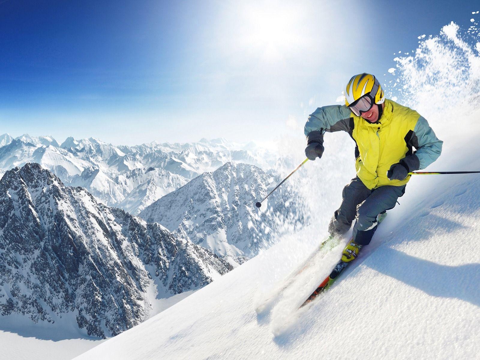 Extreme Skiing Wallpaper