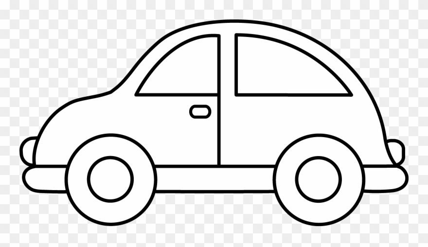 Toy Car Clip Art Black And White Toy Car Colouring Pages Png