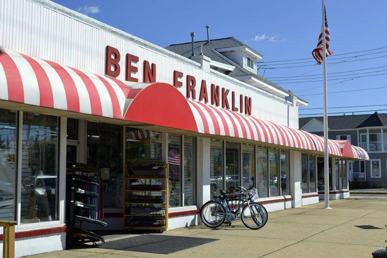 Ben Franklin In Lavallette Vacation Pictures Amusement Park Photo