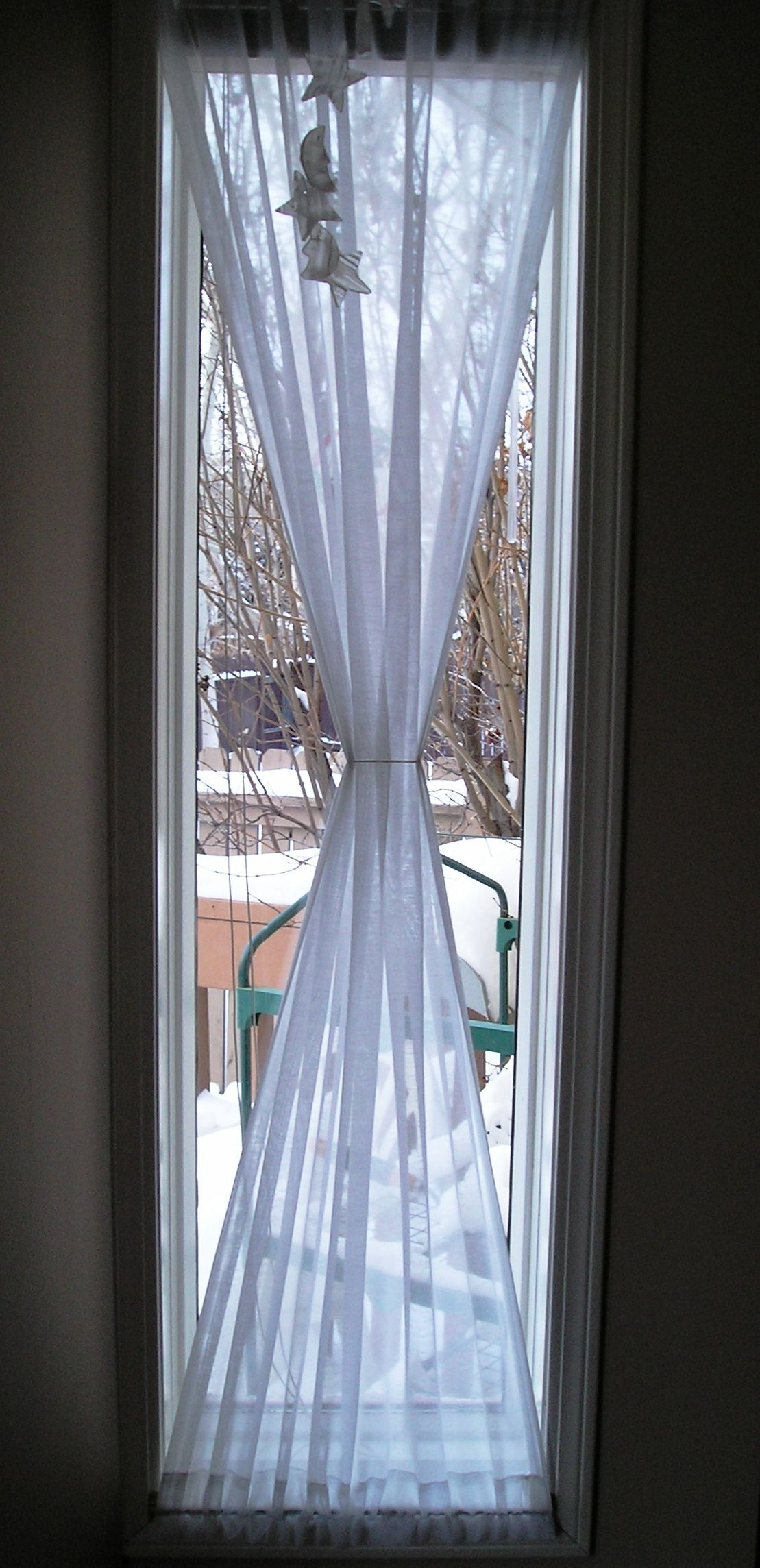 Window treatments for tall narrow windows window for Blinds for tall windows