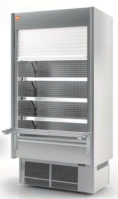 Murali frigoriferi in acciaio tendina motorizzata e chiave ...
