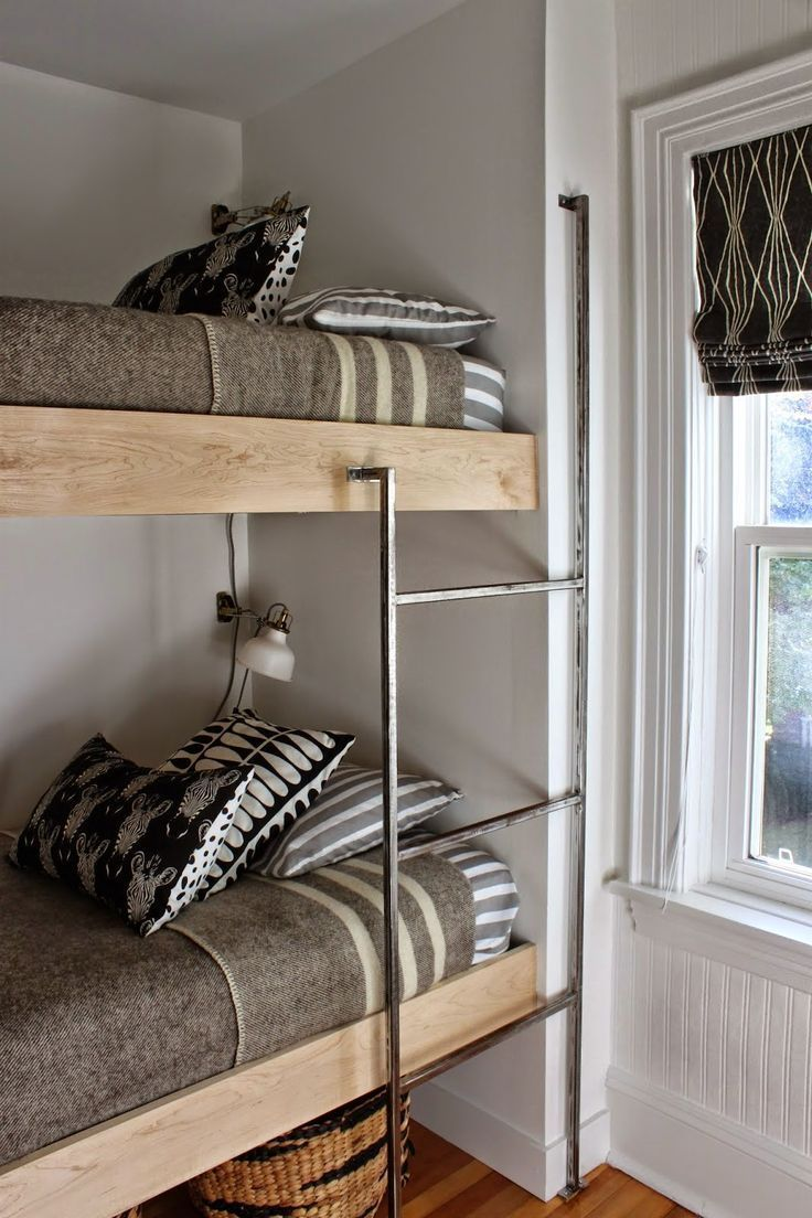 What's Hot on Pinterest Vintage Grey Bedroom Ideas Bunk