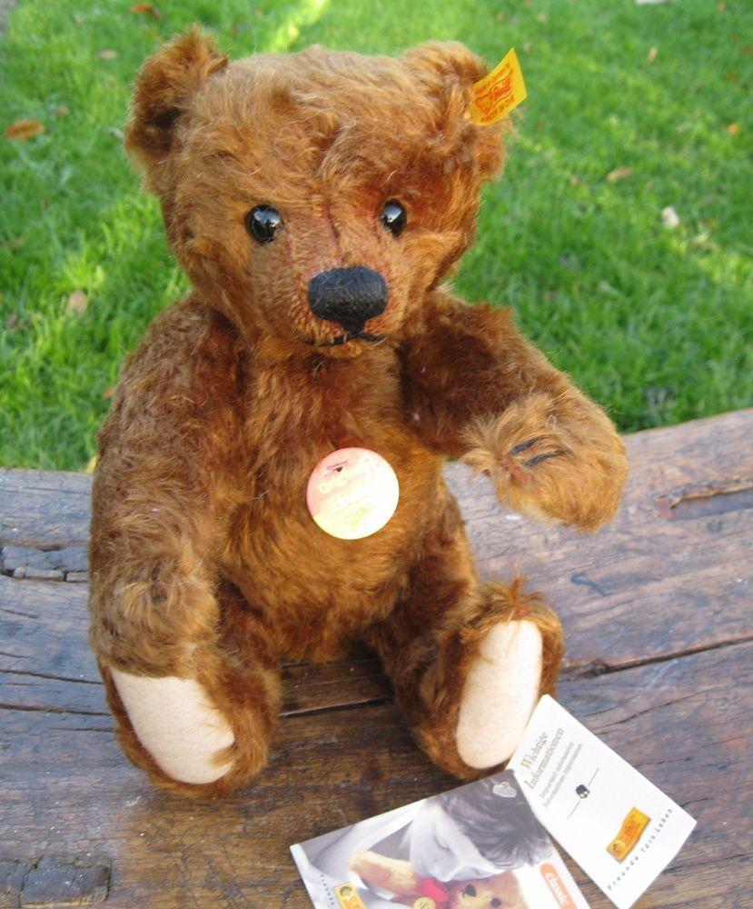 Teddy bear toys images  Steiff Original Classic Teddy Bear   Russet brown mohair
