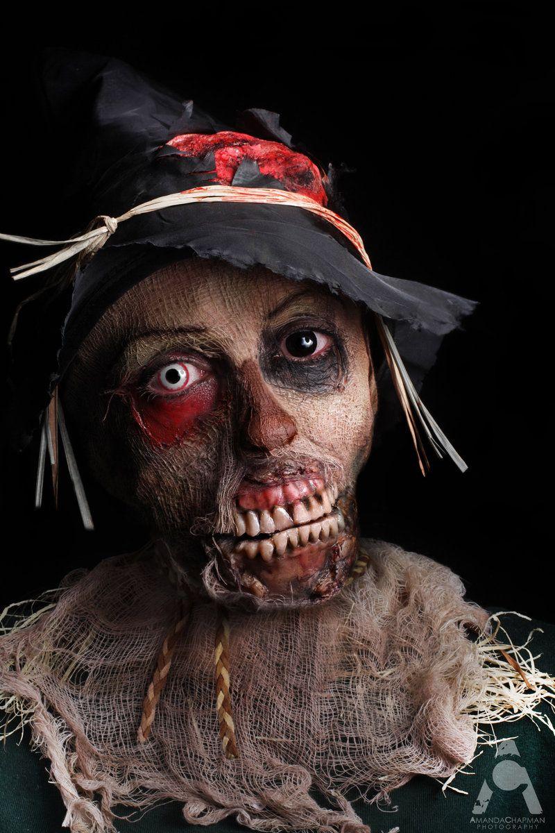 Zombie Scarecrow Halloween Makeup...creepy   Best Halloween Make ...