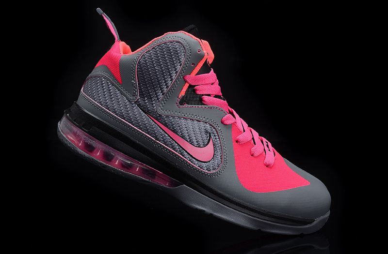 the best attitude a8bf4 aac04 only 66.48  Buy Womens Lebrons Pink Lebron 9 Womens Carbon Grey Cherry Pink  Ke