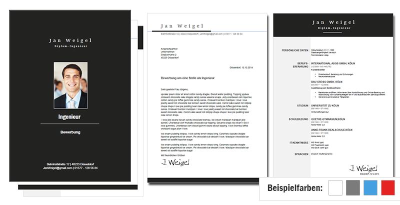 Bewerbungsvorlage Word 4 Anpassbare Premium Designs Bewerbung Schreiben Lebenslauf Bewerbung