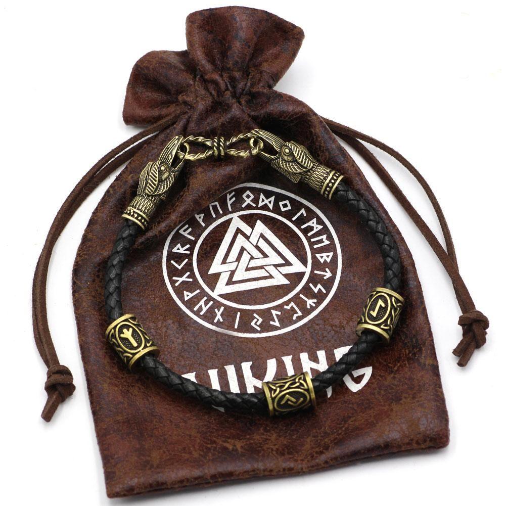Huginn And Muninn Runic Bracelet (With Images)