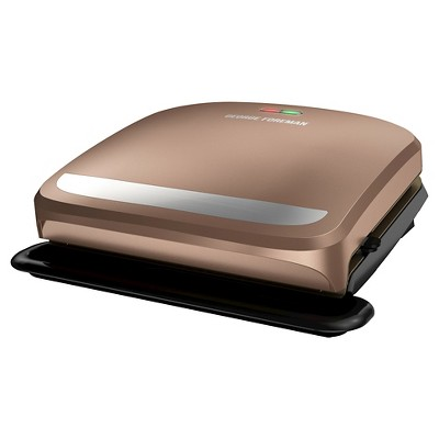 George Foreman 4 Serving Grill - Copper, Brown | Products ...