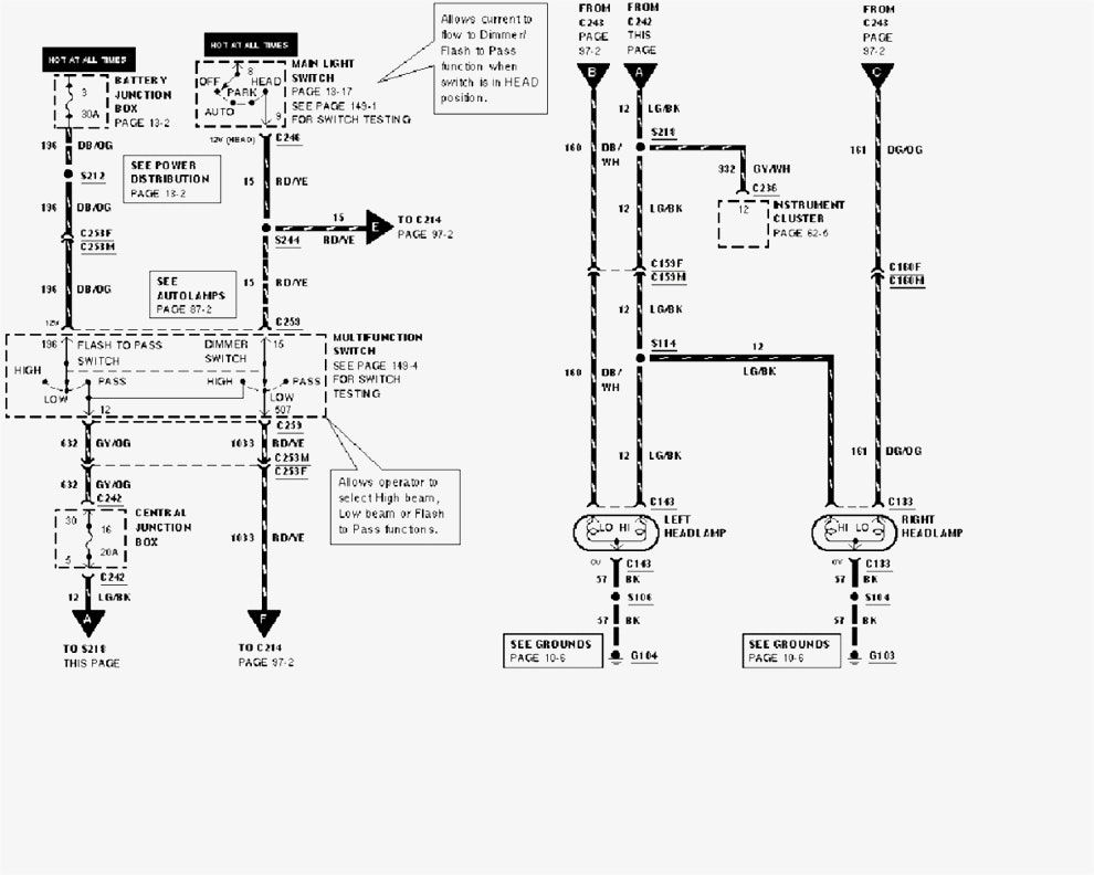 Wiring Diagram For 2002 Ford F150 Wiring Diagrams Schematics Ford F150 Ford F150