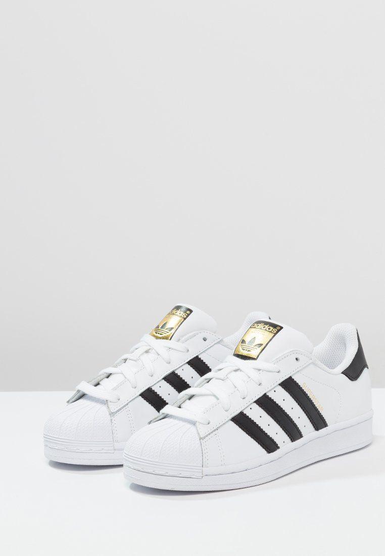 adidas Originals SUPERSTAR - Sneakers laag - white/core black - Zalando.nl