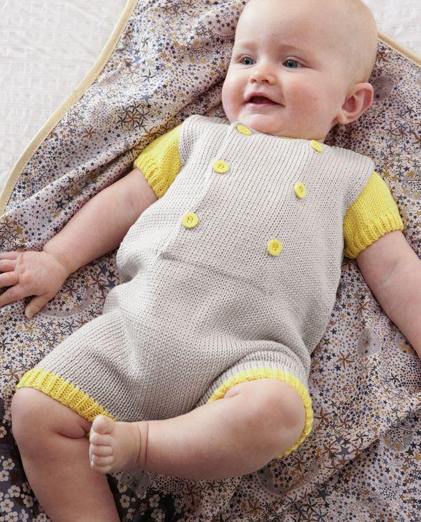 Modèle combinaison layette en 2020   Tricot layette, Tricot gratuit layette, Pull tricot bebe