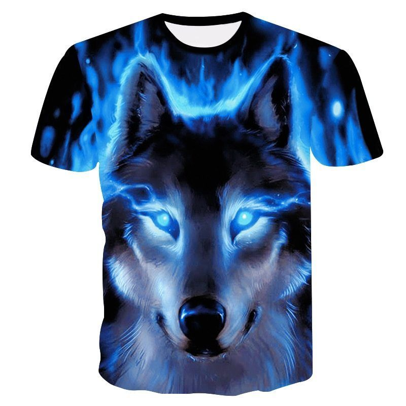 1f57f866957 Novelty 3D men wolf t-shirt Cool wolf Printed t shirts summer 3D Short  Sleeve  fashion  clothing  shoes  accessories  mensclothing  shirts (ebay  link)