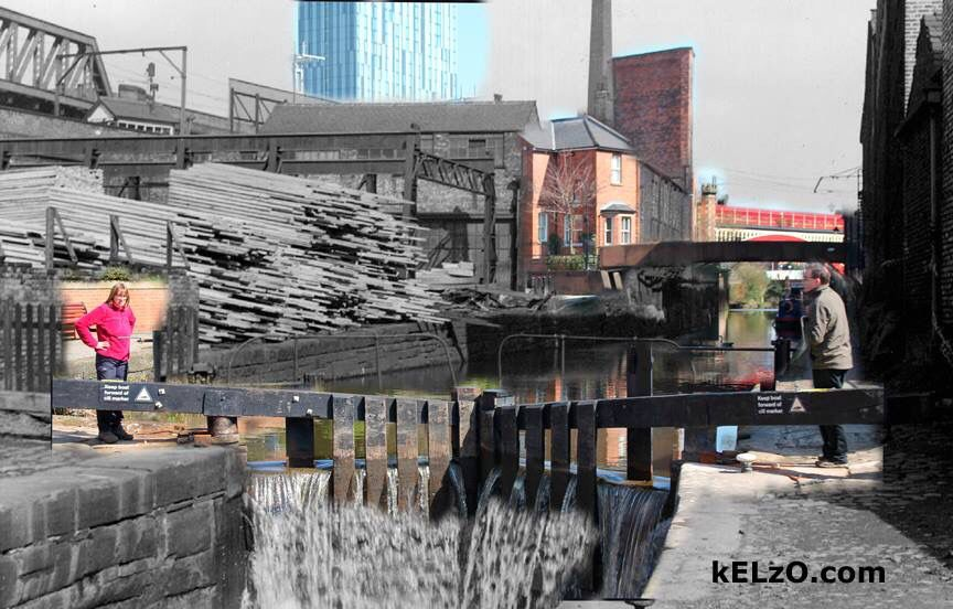 Castlefield Old and New